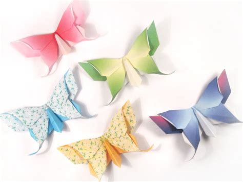 Paper Butterfly - origami butterfly make it for a simple sweet souvenir