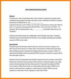 employee non compete agreement template 7 employee non compete agreement template land scaping
