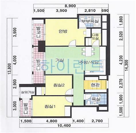 50 square meters yongsan park tower apartment 55 square meters 54 square