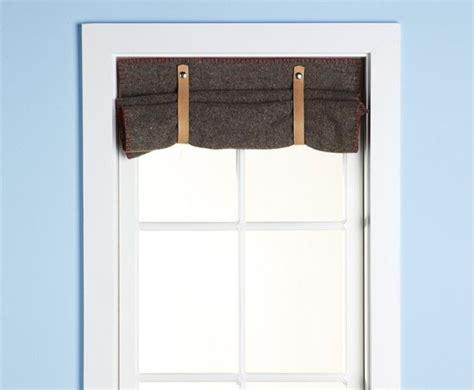Diy Wool Blanket Curtain Stitch Pinterest