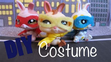 diy costume     lps superhero costume youtube