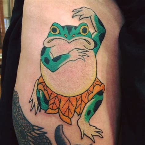 80 lucky frog tattoo designs meaning amp placement 2017