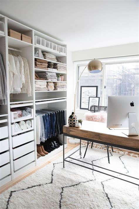 ikea wardrobe  closet hacks digsdigs