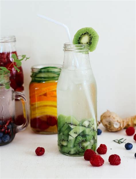 Detox Water Recipe For Dehydration by Best 25 Water Recipes Ideas On Infused Water