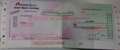Meaning Of Drawer And Drawee Of Cheque by Banking In Depth Important Fact About Denamd Draft