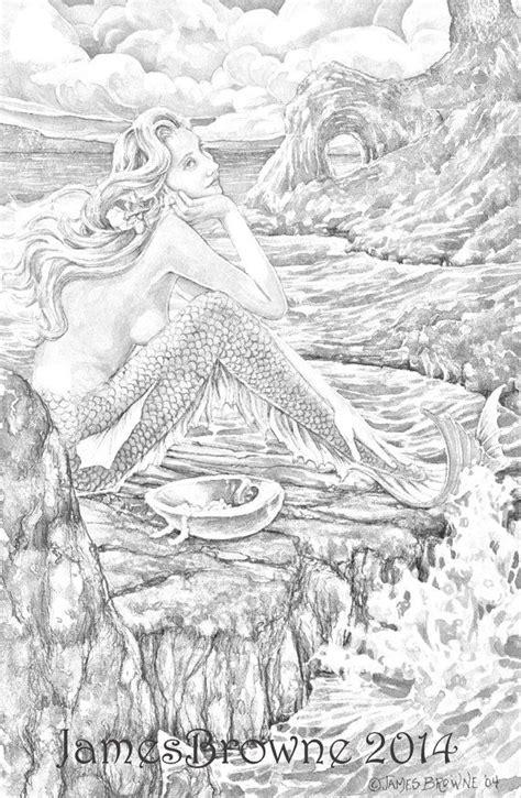 In afwachting van de Liefde Zeemeermin kleurplaat