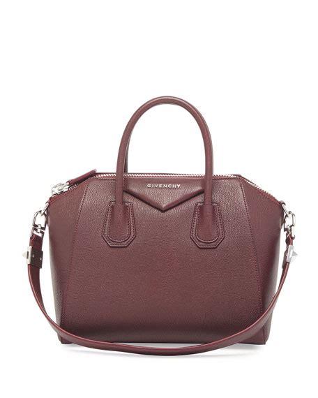 Givenchy Antigona Leather 61733 Leather givenchy antigona small leather satchel bag oxblood