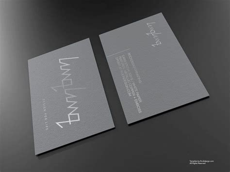 silver foil business card template 17 best images about pps bc on creative