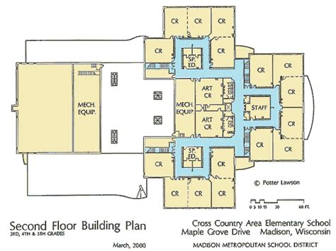 school floor plans simple school plan