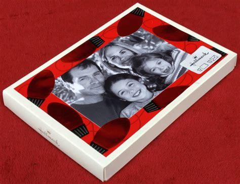Photo Insert Cards - hallmark embossed lights photo insert