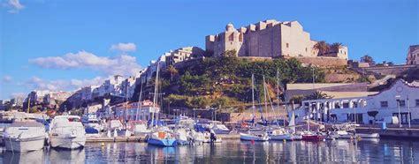 mahon minorca cruises to mahon mediterranean cruises cunard