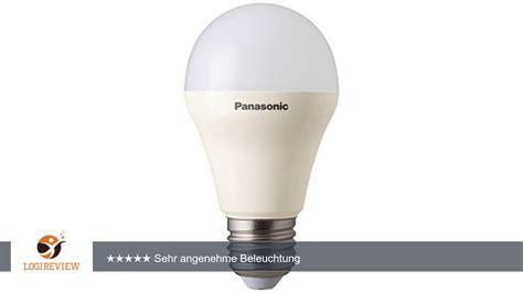 Lu Led Panasonic 10 Watt panasonic led le 10 5w ersetzt 75 watt e27 warmwei 223 3000 kelvin 1055 lumen matt