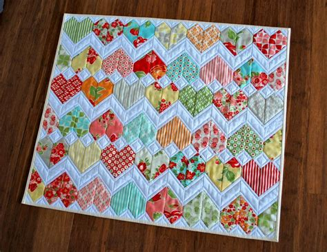 Patchwork Designs For Beginners - quilting zigzag