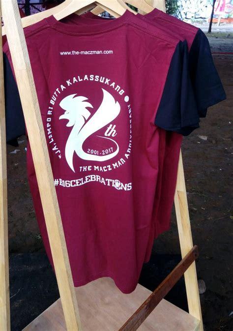 Tshirt Bonek 01 t shirt anniversary 16 tahun the macz