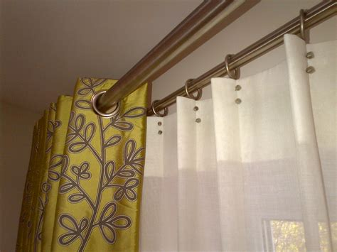 what size pole for eyelet curtains creative curtains