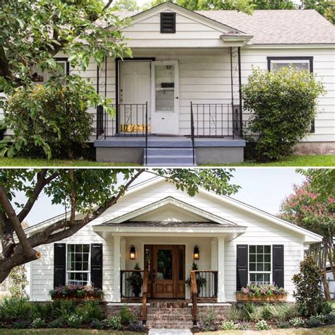 Small Home Exterior Remodel 25 Best Ideas About Fixer Show Auf