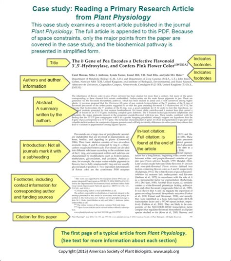 how to read a scientific paper and study reading