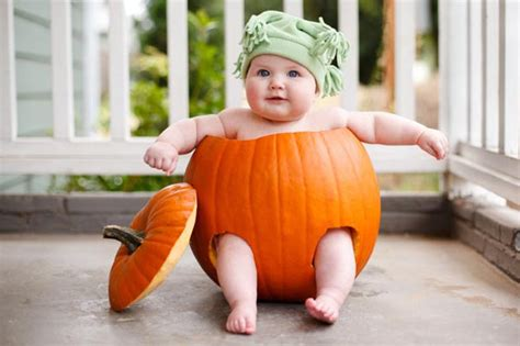 baby pumpkin is a baby scary