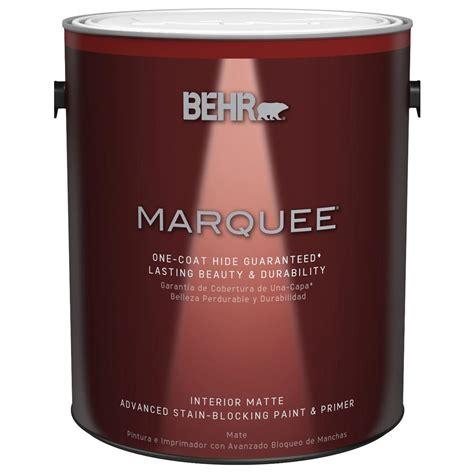behr marquee 1 gal medium base matte interior paint