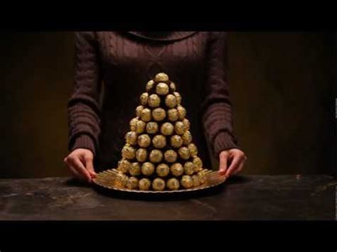 how to make a rocher christmas tree with 48 rocher chocolates create your own ferrero rocher 174 pyramid confectionnez votre propre pyramide ferrero 174