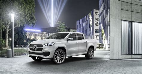 luxury mercedes benz mercedes benz reveals luxury pickup truck