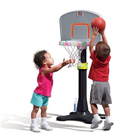step2 light it up basketball hoop tikes basketball hoop for toddlers