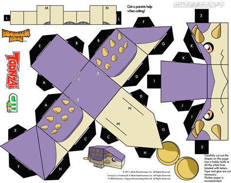 Dinosaur Papercraft -