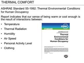 thermal comfort ppt
