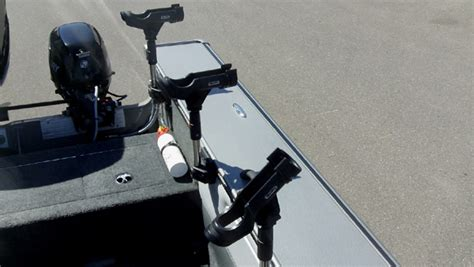 lund boats rod holders fishing headquarters rigging your boat walleye style