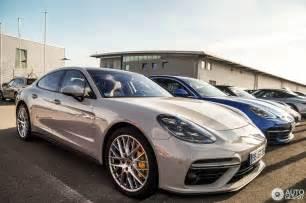 Turbo Porsche Panamera Porsche 971 Panamera Turbo 6 July 2016 Autogespot