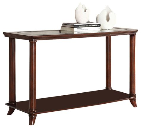 Cherry Sofa Table Westerville Sofa Table Cherry By Furniture Of America Contemporary Console Tables By