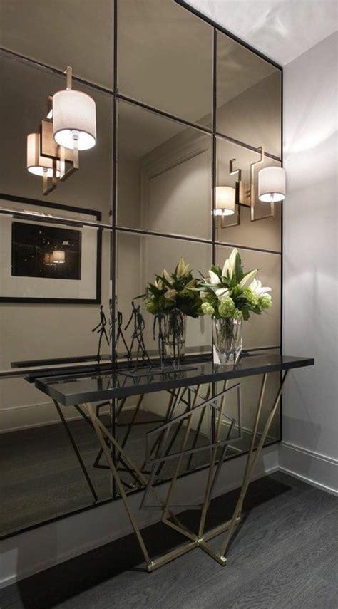 ideas de recibidores originales  encanto espejos de pared espejos en la sala