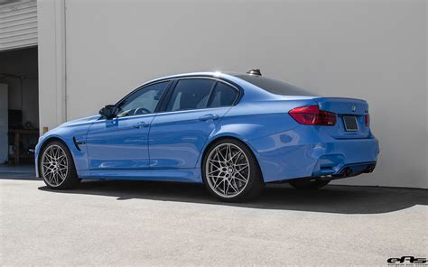 yas marina blue bmw m3 with a competition package gets ind
