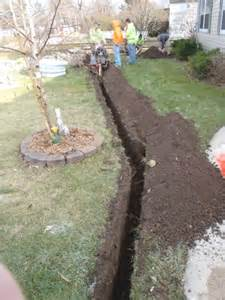 drainage ditch in backyard landscaping a drainage ditch 187 backyard and yard design