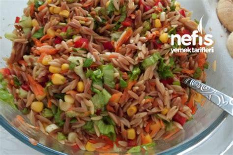tarifler salata meze kanepe salata tarifleri renkli salata şehriyeli renkli salata nefis yemek tarifleri