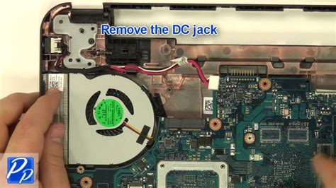 dell inspiron    dc jack replacement video