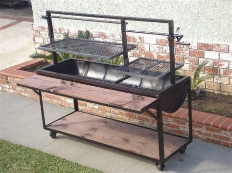 Handmade Barbecue Grills - this would be a cool pit to build once i get a shop diy