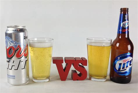 miller lite vs coors light cheap american beers the bracket sweet 16 drink