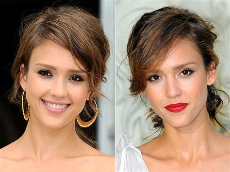 change mouth eyes hairstyle effect what s her best makeup people com
