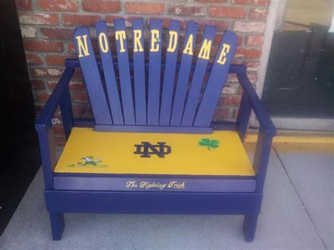 notre dame bench notre dame bench 28 images video notre dame bench goes