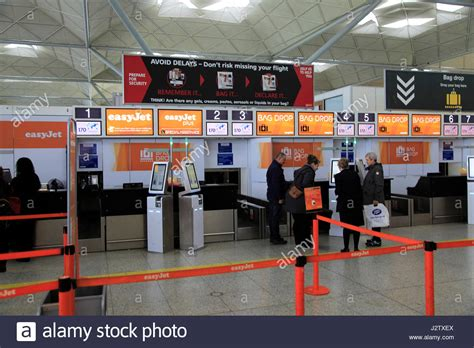 easyjet check in mobile easyjet check in bag drop area stansted airport essex
