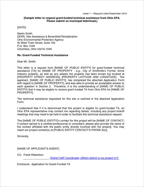 cover letter for grant application exles sle cover letter for grant