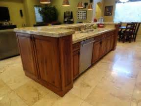 kitchen sink island stylish kitchen island with sink and dishwasher for the