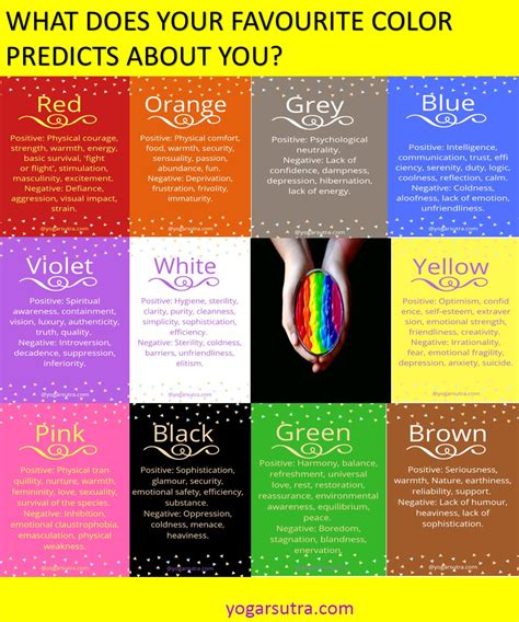 what your favorite color says about you what does your favorite color predicts about you