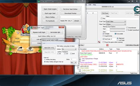 cheat seal online indonesia pointer bypass baru juni cheat seal online update mei 2016 bypass cheat engine