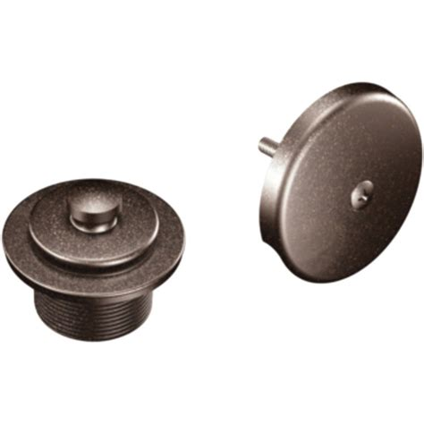 overflow trim ring oil rubbed bronze moen t90331orb accessory push lock waste and overflow trim