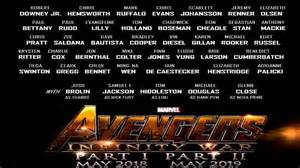 Infinity Characters List List Of 43 Actors Just Released For Infinity War