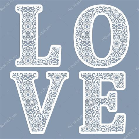 templates for word love templates for cutting out letters of the word quot love quot may