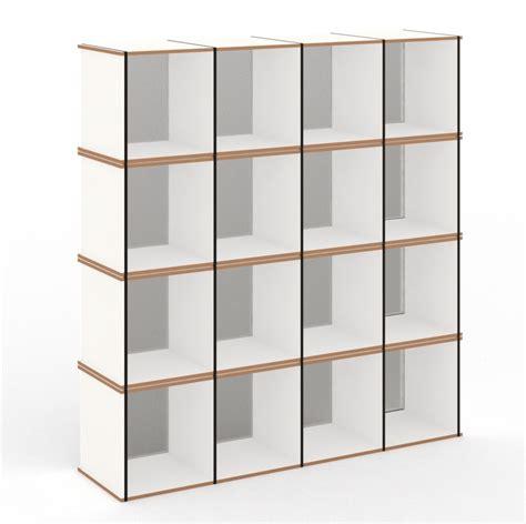 scaffale modulare scaffale modulare in fibra di legno aktenpack by tojo