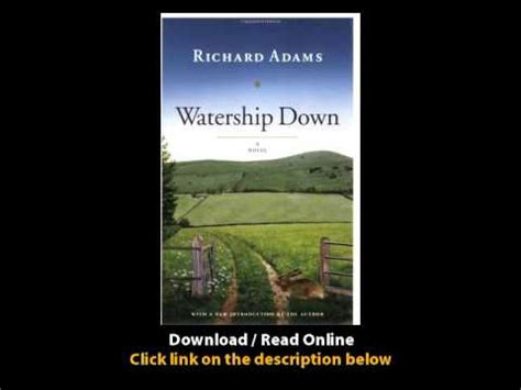 Watership A Novel pdf watership a novel